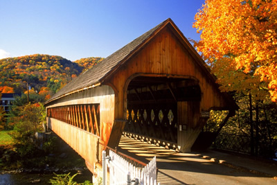 Covered Bridge in Woodstock VT